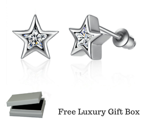 b8bfd2342 Image is loading 925-Sterling-Silver-Delicate-Sparkling-Petite-Star-Shine-
