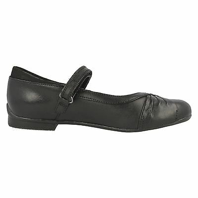 Girls Clarks Black Patent / Leather School Shoes Dolly Shy