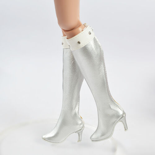 """16/""""Tonner Doll Ellowyne Wilde//Antoinette Silver 50MM Shoes//Boots Sherry 16-EB-4"""