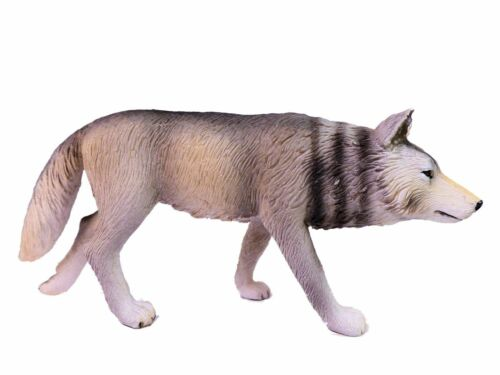 Mojö® Tierfigur Spielfigur Sammelfigur Wolf Gehend ca.11 cm 387026