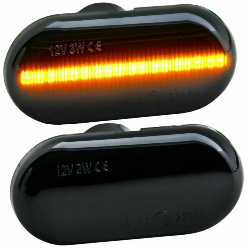 2 CLIGNOTANT LED TWINGO 1 2 3 CLIO 1 2 MEGANE 1 /& SCENIC 1 KANGOO 1 2 NOIR