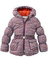 Oilily Boutique Ceet Blue Circle Magic Fleece Lined Puffer Coat 92 2t