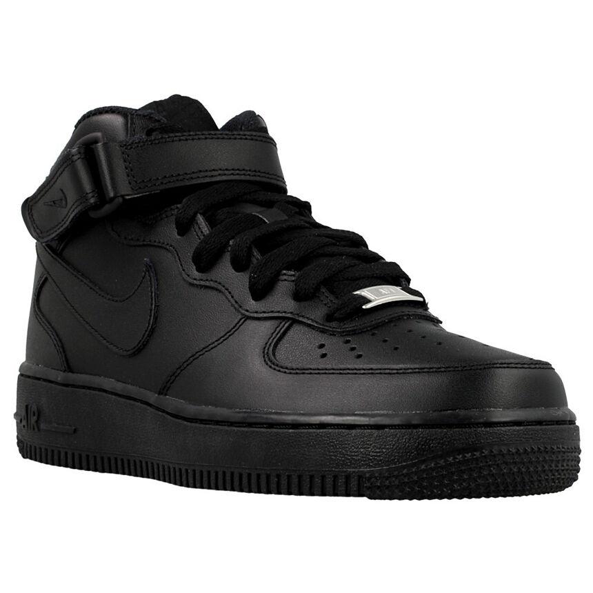 NIKE NIKE NIKE WMNS AIR FORCE 1 MID 366731-001 NERO ORIGINALE 100% SNEAKERS Nike ad8b0c