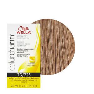 Wella Color Charm Permament Liquid Hair Color 42ml Sunlight Blonde