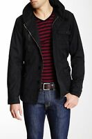 Micros Roosevelt Men's Black Hooded Cotton Jacket Sz.xl