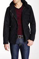 Micros Roosevelt Men's Black Hooded Cotton Jacket Sz.xl