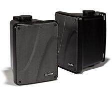 "KICKER KB6000B-2 6.5"" Black Full Range Indoor/Outdoor/Marine Box Speakers Refurb"
