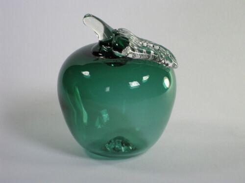 Apfel aus Glas.d.9 cm.