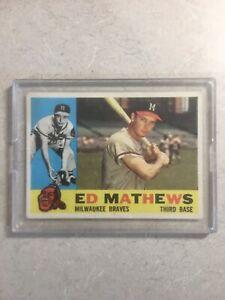 Ed-Mathews-Milwaukee-Braves-Encased-1960-Topps-Baseball-Card