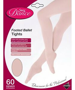 Silky Childrens Girls Full Foot Dance Ballet Tights
