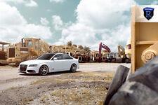 "20x10 +50 Rohana RFX5 Rotary Forming Brushed RIM 25"" BLS 5x112 Fit Audi S4 2014"
