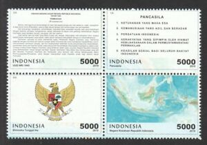 INDONESIA-2019-4-FOUNDATIONS-OF-A-NATION-MAP-COAT-OF-ARMS-amp-DECLARATIONS-MINT