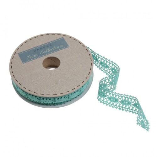 per 2 metres GCL007-M Polycotton Lace Trimming LL