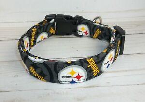 Pittsburgh Steelers NFL Terri s Dog Collar custom made adjustable ... baa279000