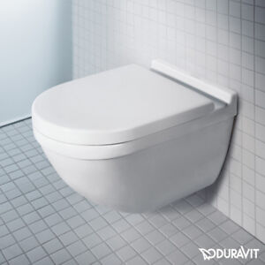 Meget Duravit Philippe Starck 3 Wall Hung Mounted Rimless Toilet WC Box YT82