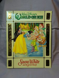 Walt-Disney-039-s-World-On-Ice-Snow-White-and-the-Seven-Dwarfs-Souvenir-Program