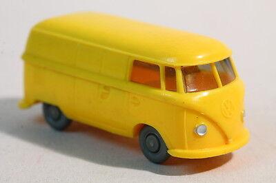 1008 Wiking Vw T1 (alt) Vagoni Postali Senza Posthorn 1965 - 1966/giallo-mostra Il Titolo Originale