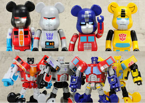 a16015ac Be@rbrick x Transformers Optimus Prime 200% Bearbrick Medicom Toy   eBay