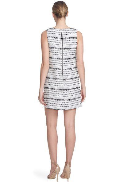 CYNTHIA STEFFE 'Anna' Bouclé Shift Dress (Size 10)  248 248 248 NEW 8a6a49