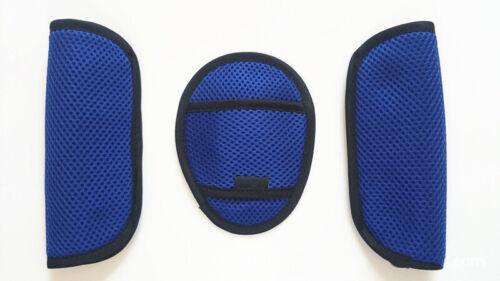 3Pcs Baby Car Seat Push Chair Strap Belt Crotch Covers  Harness Shoulder Pads