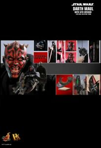 Hot Toys DX17 Star Wars The Phantom Menace Darth Maul /& Sith Speeder Normal Ver