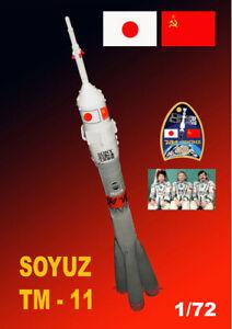 Mach 2 1/72 Soyuz (Japan) TM-11 # L019