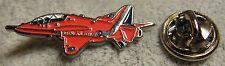 Red Arrows Hawk Plane Aerobatic Lapel Pin Badge The Reds Aeroplane Brooch