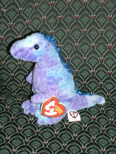 Ty Beanie Baby ~ TYRANNO the Tyrannosaurus Rex Dinosaur ~ MINT with MINT TAGS