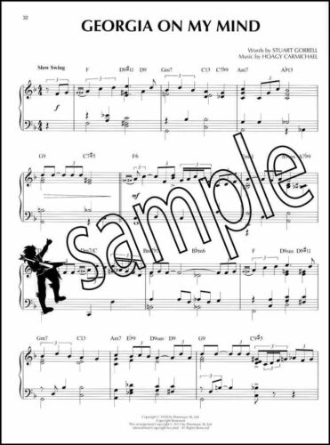 Cocktail Piano Jazz Piano Solos Volume 31 Sheet Music Book Blue Moon Stardust