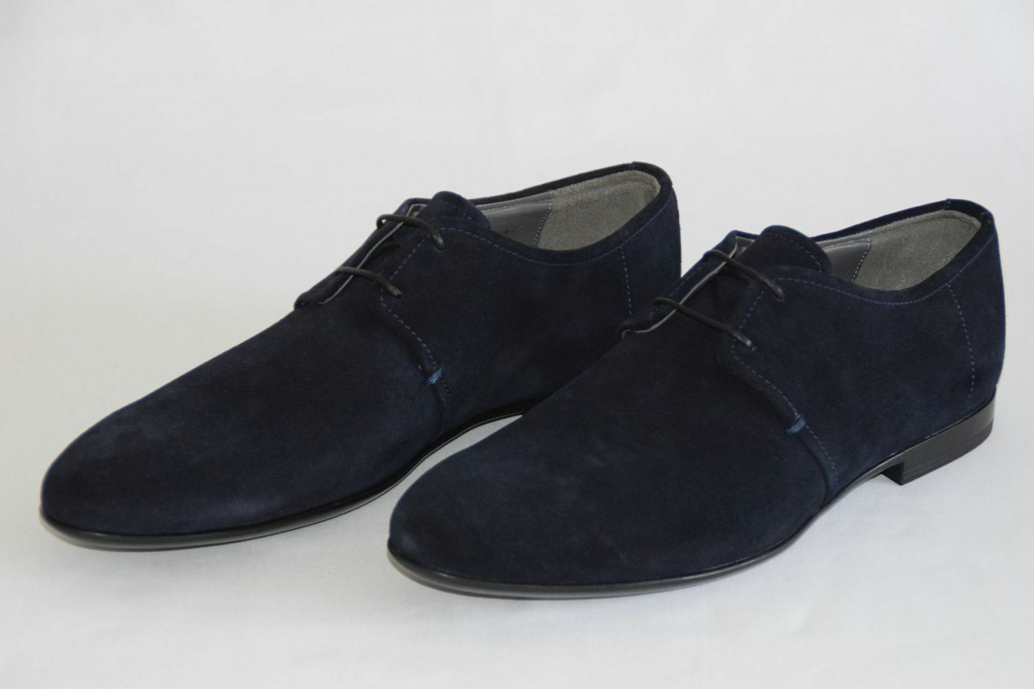 HUGO BOSS BUSINESSSCHUHE, Mod. Parols, Gr. EU 42,5 US / UK 8,5 / US 42,5 9,5  Dark Blau 8a28d8