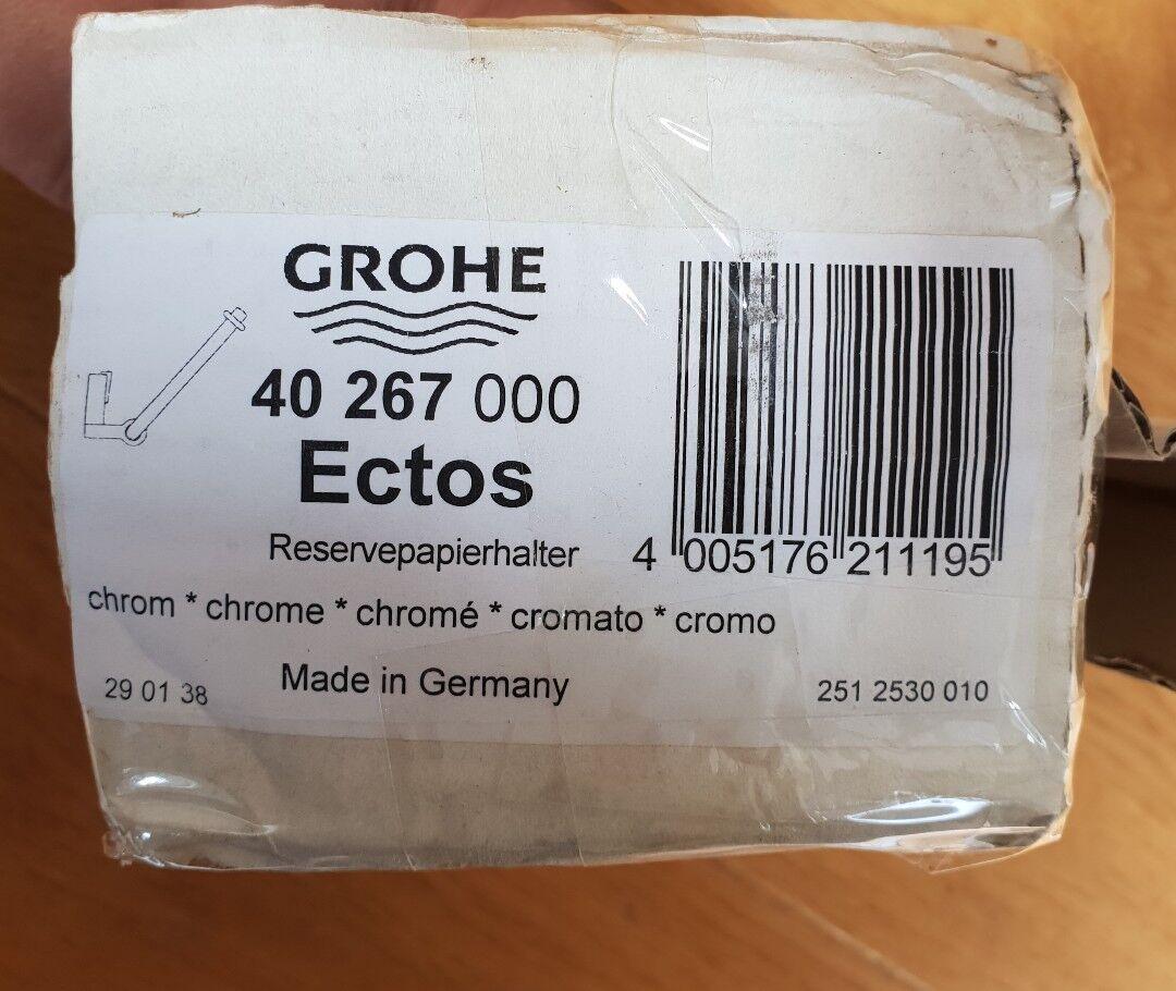 Grohe 40267 000 ECTOS titular de toalla rollos de