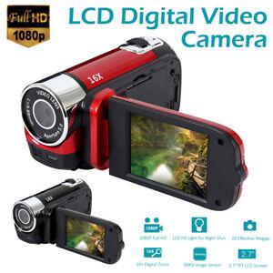 "1080P 16MP 2.7"" 16x Zoom Lcd цифровая видеокамера Hd-видеокамера Mini Dv Dvr Usb"