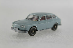 A-s-s-Wiking-ALT-automoviles-Volkswagen-VW-411-Hell-azul-gris-1971-GK-46-2a-CS-310-3c-ASC