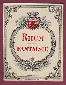 Etiquette 250515 - RHUM - SPECIMEN D'ETIQUETTE - rhum fantaisie - couronne QPha4oq6-09104748-109632512