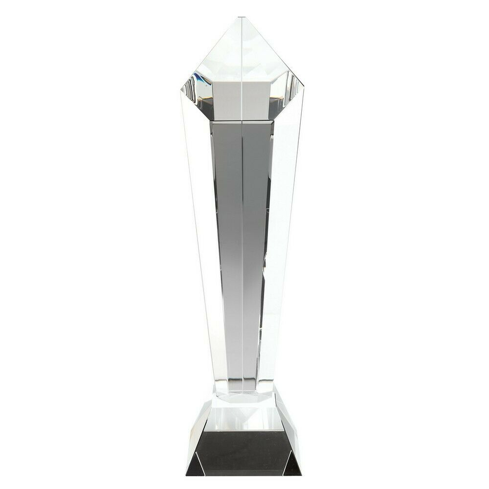 Premium Quality Glass Any Event Trophy Award Gift Present FREE Engraving LCG3
