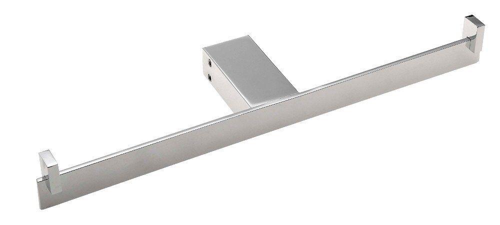 Toilettenpapierhalter 2-Fach ohne Deckel QUELLA-Serie, Chrom