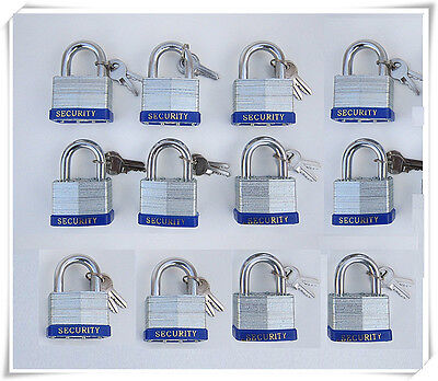 "6p 2/"" Security LAMINATED PAD LOCKS Keyed Alike NEW lock"
