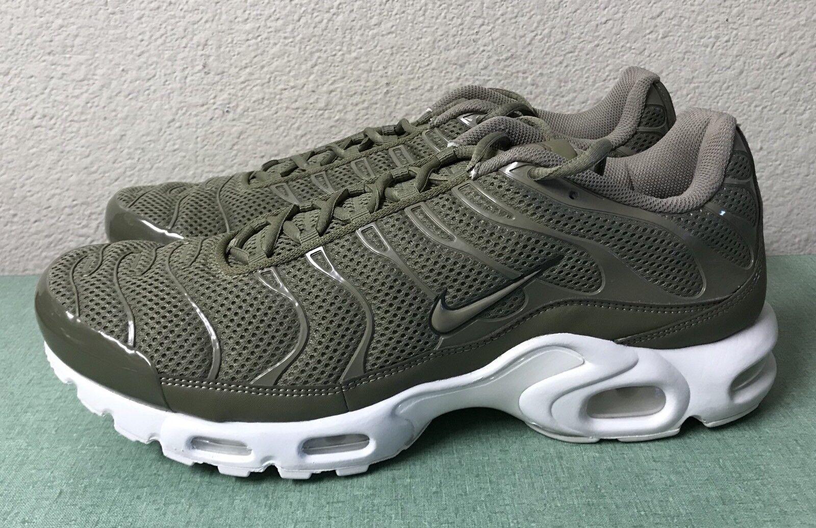 Nike air max   br - olive carico cachi Uomo sz 13 scarpe da corsa. di nuovo!!