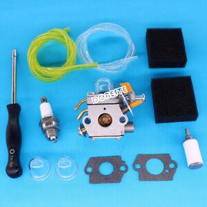 308054032-Carburetor-For-Ryobi-Homelite-UT-60526-RY09550-RY09551-Air-Filter-Kit