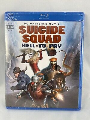 Suicide Squad Hell To Pay Steelbook (BLU-RAY+DVD+DIGITAL