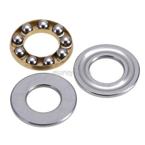 2PCS F8-16M Axial Ball Thrust Bearing thrust needle roller bearing 8*16*5mm