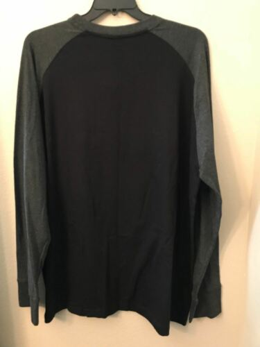 Details about  /Ecko Unltd Big and Tall 2XB Black Gray Red White Long Sleeve Crew Neck Shirt