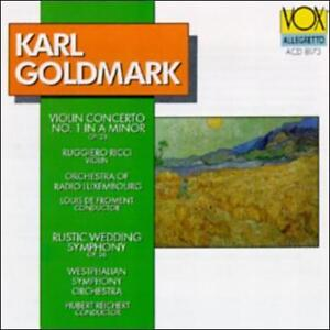Karl-Goldmark-Violin-Concerto-amp-Rustic-Wedding-Symphony-CD-1994