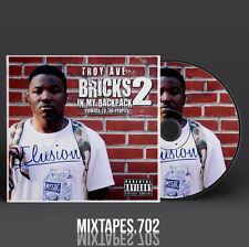 Troy Ave - Bricks In My Backpack 2 Mixtape (Artwork CD/Front/Back Cover)