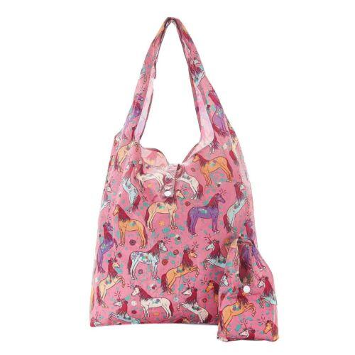 Unicorn Impresión Plegable Shopper sostiene 15kg Max Eco Chic Bolso de compras