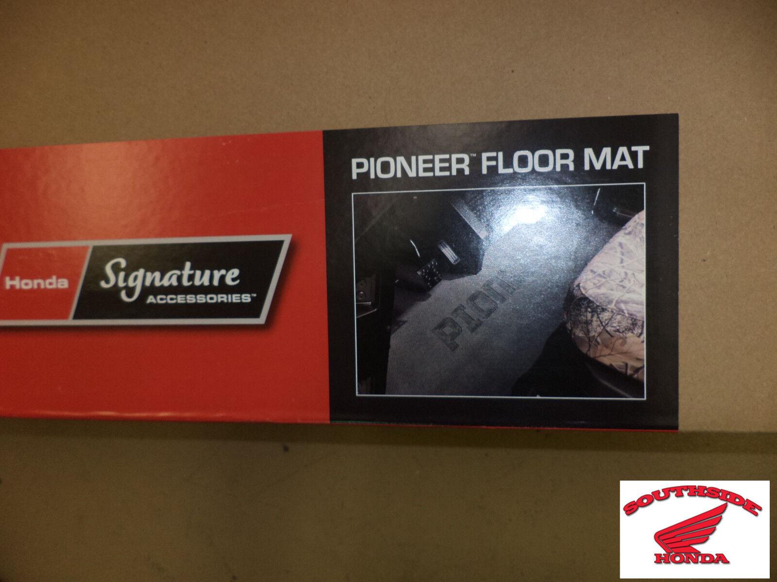 Genuine Honda Pioneer 700 Front Rubber Floor Mat Ebay Cargo Tray Norton Secured Powered By Verisign