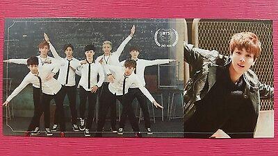 BTS JIN SEOKJIN #2 Official Photo Card 2nd Mini Album Skool Luv Affair Photocard