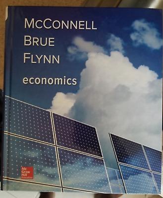 McConnell Brue Flynn Economic 21E 9780073511443 EBay