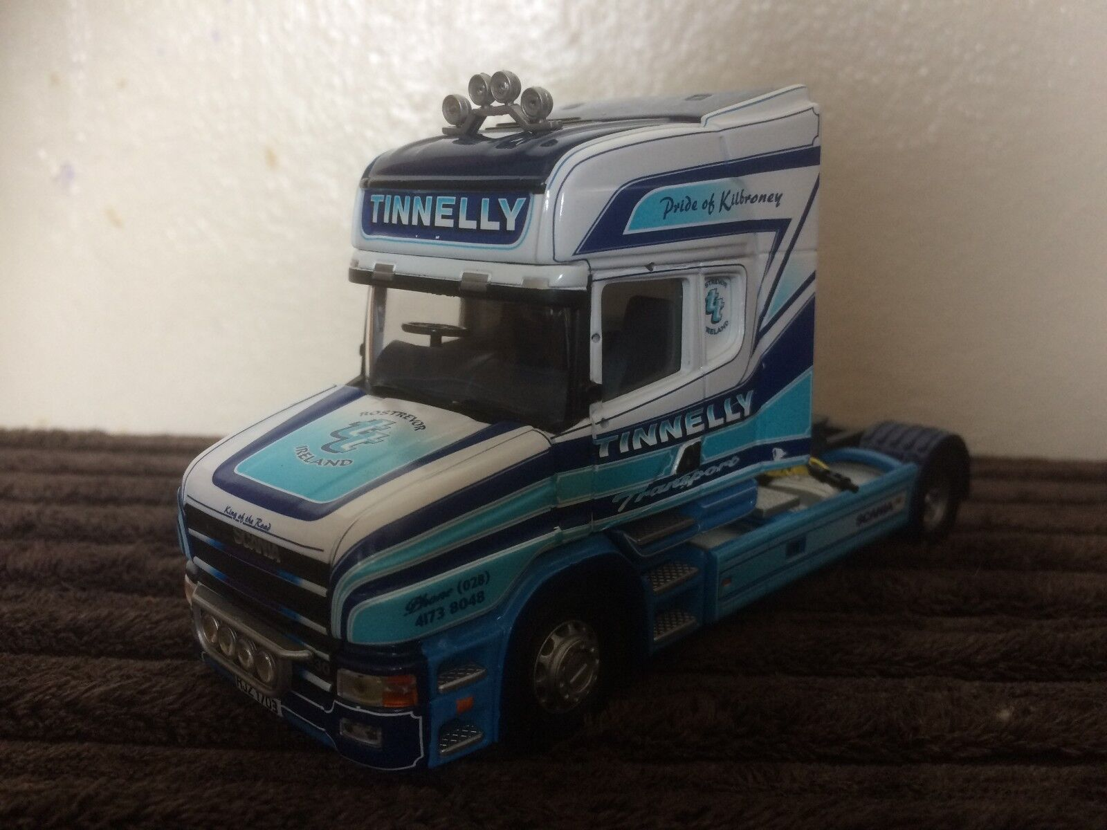 CORGI HEAVY HAULAGE moderne Camions Scania T Cab tinnelly seulement 1 50