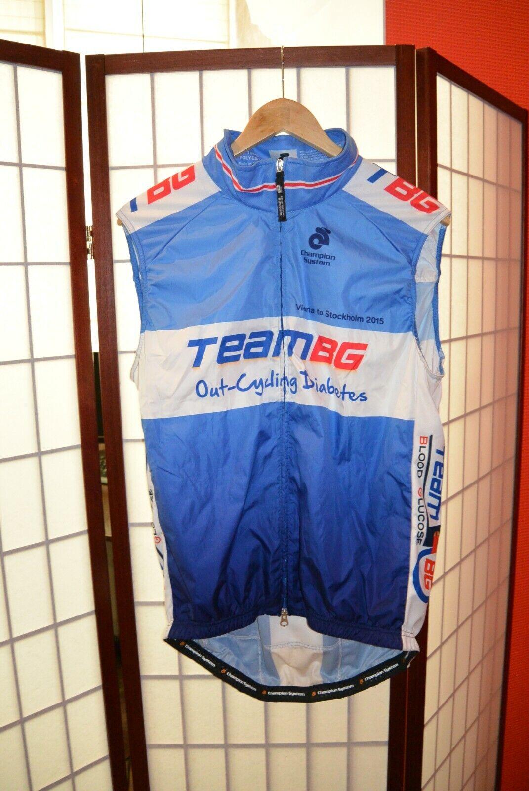 Maglia da ciclismo TEam BG VEST XL   55